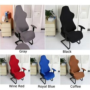 ✔Office Computer Stretch Racing Gaming Chair🔥 Seat Cover  Armchair Covers
