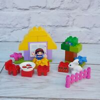 Lego Duplo Disney Princess Set 6152 Snow White's Cottage 2012 Complete Retired