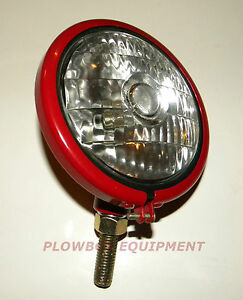 6 V HEADLIGHT for FARMALL CUB (Super A C H M) 100 130 200 300 350 400 450 Lo-Boy