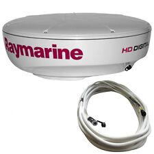 RAYMARINE RD424HD 4KW DIGITAL RADAR WITH 10M RAYNE