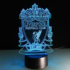Liverpool Football Club 3D LED Table Lamp Night light Acrylic Gift 7 Color