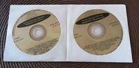 2 CDG DISCS KARAOKE SET BEST OF STANDARDS - BING CROSBY,SINATRA MUSIC CD CD+G