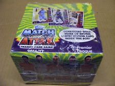 SEALED BOX of 2016/17 MATCH ATTAX TRADING CARDS (50 packets, 9 cards per pack)