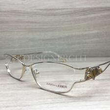 fca53516aac Judith Leiber JL 1593 Eyeglasses Pale Gold 04 Authentic 53mm