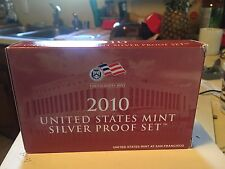 One (1) 2010 Silver Proof Set
