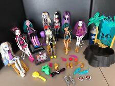 Monster High Lot Mattel Dolls Play Sets Accessories Huge Lot
