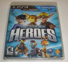 PS3 Playstation Move Heroes game Factory Sealed brand new