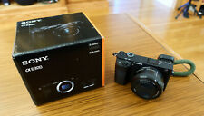 Sony Alpha A6300 24.2MP Mirrorless Digital Camera - Black (Kit with 16-50mm...