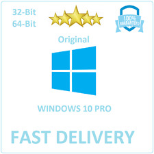 Windows 10 Pro ORIGINAL 32/64 BIT LIZENZ KEY OEM ACTIVATION CODE