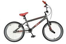 """NEW* XN-11-20 Kids Freestyle BMX Bike Boys Unisex 20"""" Wheel Single Speed - Grey"""