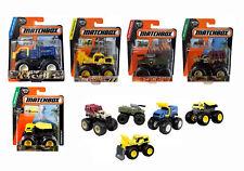 MATCHBOX 2015 MBX EXPLORERS MONSTERS TRUCKS 1:64 Toy Mattel Assortment  Choose