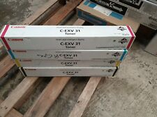 4 Toner C-EXV31 CYMK IR C7055  IR C7065 Neu OVP B-Ware Rechnung Mwst