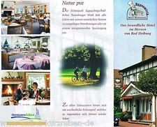 Das Eggegebirge für 2P/2Ü/DZ erkunden im Hotel Eggenwirth & Restaurant