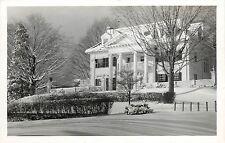 c1950 Real Photo PC Headmaster's House Fessenden Boarding School West Newton MA