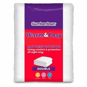 Slumberdown Warm & Cosy Double Mattress Protector Brand New & Sealed