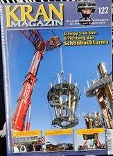 Grúa Magazine nº 122, oct. 2018 nuevo no leído, Liebherr, Demag, Terex, Faun