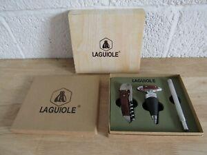 Laguiole Wine Set Corkscrew Thermometer (Hospiscare)