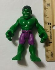 3 Inch Hulk Action figure toy used loose Marvel 2010