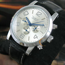 Mens Luxury Wristwatch Self-winding Mechanical 6 Hands  Automatic Watch Gift Box