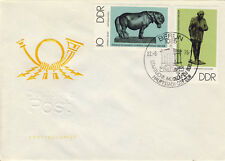 Ersttagsbrief DDR MiNr. 2141, 2144, Staatliche Museen Berlin: Bronzeplastiken