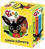 Bing's Little Library Mini Board Book Set Toddlers Kids Ideal children Xmas Gift