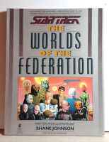 Vintage 1989 Star Trek Worlds of the Federation Reference Book- 158 Pages
