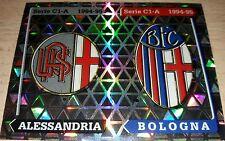 FIGURINA CALCIATORI PANINI 1994/95 SCUDETTI ALESSANDRIA BOLOGNA 552 ALBUM 1995