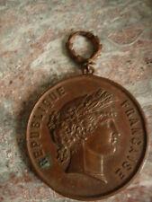 médaille PRIX DE TIR EN BRONZE ECOLE DE TIR DE VERDUN 1881