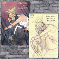 🔥 SOMETHING IS KILLING THE CHILDREN #12 PEACH MOMOKO TRADE + SKETCH VARIANT SET
