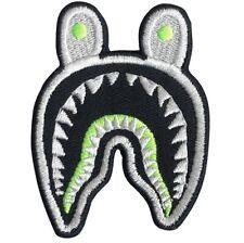Bape Shark Iron-on Patch: Pharrell, Ape, Nigo, Air Max 95 Cool Grey Volt