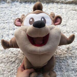 Baby Looney Tunes Tasmanian Devil Plush Toy Warner Bros Movie World w Tags