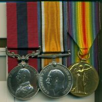 A WWI D.C.M. group of three awarded to Sergeant F. A. Southcott, Canadian