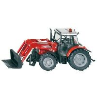 1:32 Massey Ferguson 5445 With Front - Siku Tractor Loader 132 3653 Scale Toy