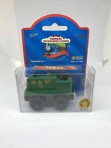 Thomas and Friends Wooden Train Retired  NEIL Train Car NEW IN BOX Rare Britt