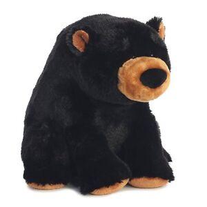 Carver Medium 10 inch Brown Sitting Wild Mountain Teddy Bear Soft Cuddly AU01734