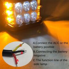Car&Truck 12 Led Work Light Bar Emergency Warning Strobe Flashing Lamp 9H