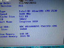 "Dell Inspiron Mini 10 1010 10.1"" Netbook - Customized"