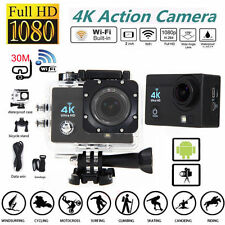 4K 2.0 inch 170° Ultra SJ9000 Wifi Waterproof Sport Action Camera 1080P DVR Cam