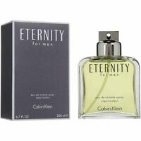 Eternity by Calvin Klein 6.7 oz EDT Cologne for Men New In Box
