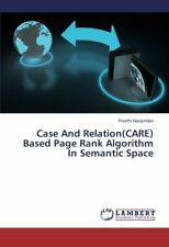 Case And Relationcare Based Page Rank Algorithm In Semantic Space Preethi