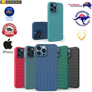 Full Coverage Woven Shockproof TPU Case For iPhone 13 excellent wear resistance