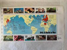 US Stamps SC# 2559 WW-II 1941 1/2 sheet of 10 MNH 29c 1991