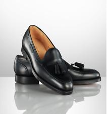 $1,350 Ralph Lauren Purple Label Crockett England Marlow Black Tassel Loafer C&J