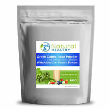 200g Green Coffee Bean Powder with diet protein unflavoured test for weight loss