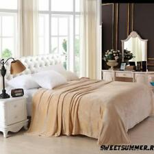 Suave Visón Faux Fur Lanzar Lana Calentar Grande Sofá cama Manta doble 150x200cm