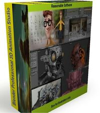 Blender 3D Animation Studio Professional Graphics Film Software Digital download