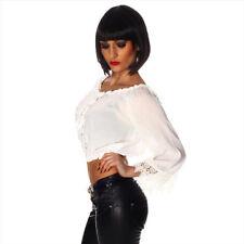 Damenblusen, - tops & -shirts mit Carmen-Blusen im Größe 42