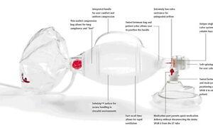 Disposable Manual Resuscitator Adult Ambu Bag  SPUR II(Pack of 2 Piece)