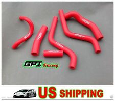 FOR Honda CR250R CR 250 R  1988-1991 89 90 silicone radiator hose
