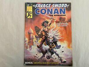 SAVAGE SWORD OF CONAN #8 , The Barbarian, Marvel Comics Magazine 1975